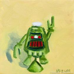 Et-Tu-Klaatu-Oil-on-canvas-5x5-inches-copyright-2011-Marilyn-Fenn