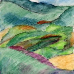 Road-To-La-Verna-Watercolor-media-on-paper-copyright-2005-Marilyn-Fenn