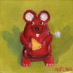 Wensleydale-Oil-on-canvas-4x4-inches-copyright-2011-Marilyn-Fenn