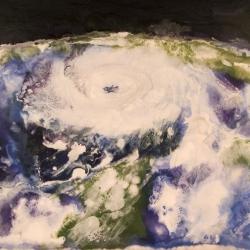 Hurricane-Katrina-Encaustic-on-Masonite-8x10-inches-copyright-2007-Marilyn-Fenn
