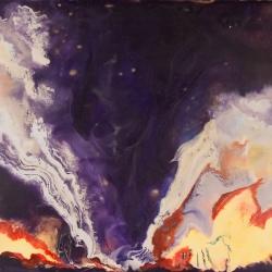 Tornado-Oklahoma-07-02-1999-Encaustic-on-Masonite-8x10-inches-copyright-2007-Marilyn-Fenn
