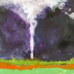 Tornado-Parson-Kansas-Encaustic-on-Masonite-8x10-inches-copyright-2007-Marilyn-Fenn