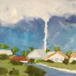 Tornado-Punta-Gorda-Encaustic-on-Masonite-8x10-inches-copyright-2007-Marilyn-Fenn